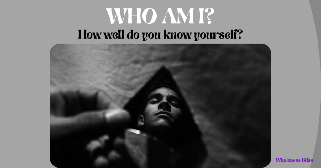 what does it mean to know yourself?